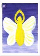 Art Greeting Card - Winged Goddess